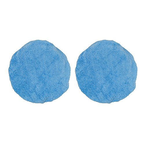 Detailer's Choice 6-356 5 to 6-Inch Microfiber Bonnets, 2 Pack