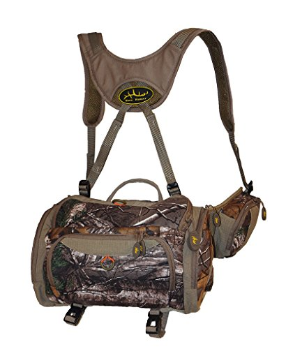 Sportsman's Outdoor Products HORN HUNTER Typical 7 Pocket Fanny Pack, Mossy Oak Infinity
