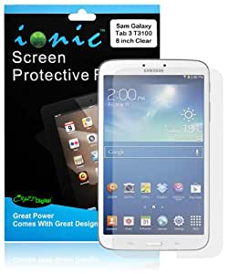 COD Screen Protector Film Clear (Invisible) for Samsung Galaxy Tab 3 8.0 T3100 (3-pack)