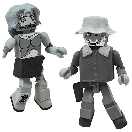 DIAMOND SELECT TOYS Walking Dead Halloween 2012 B and W, 2-Pack ()