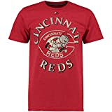 Majestic Cincinnati Reds First Among Equals Cooperstown Red T-Shirt