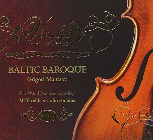 sonatas. CD 1, RV1-RV5. Baltic Baroque / Maltizov (Baroque Sonatas)