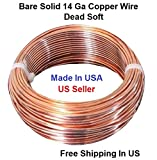 14 AWG Solid Copper wire Dead Soft 100 Ft. Coil
