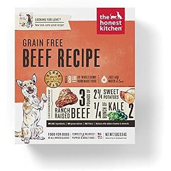 honest kitchen human grade dehydrated organic grain beef dog food rh amazon com