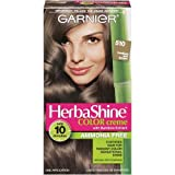 Garnier Herba Shine Hair Color Creme with Bamboo Extracts #510 Medium Ash Brown (Pack of 3)