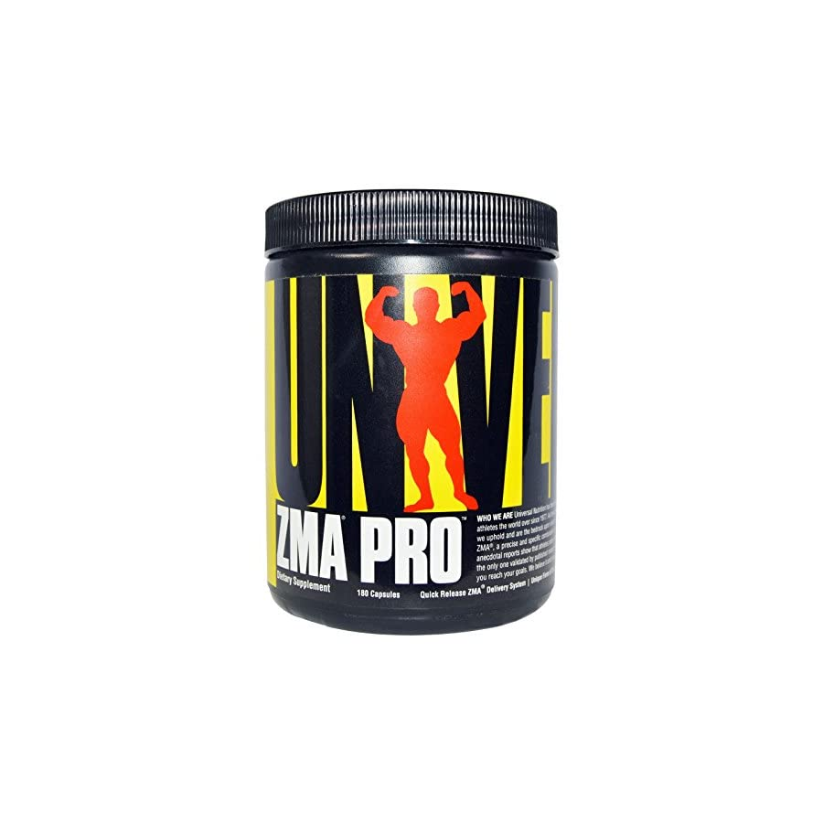 Universal Nutrition, ZMA Pro, 180 Capsules 3PC