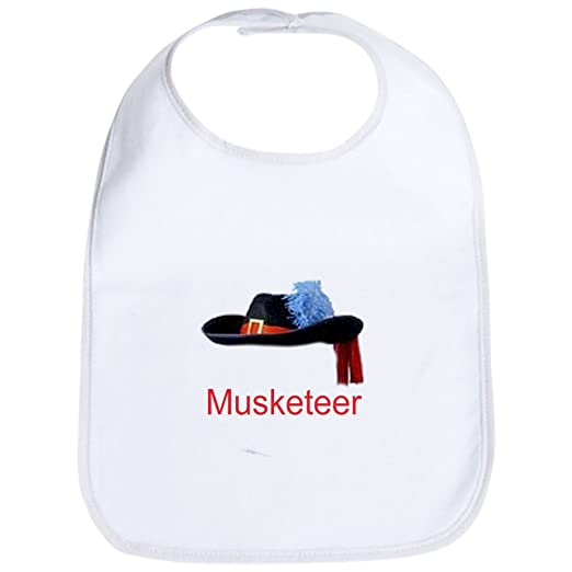 7ed48d8f94ff7 Amazon.com  CafePress - Musketeer - Cute Cloth Baby Bib