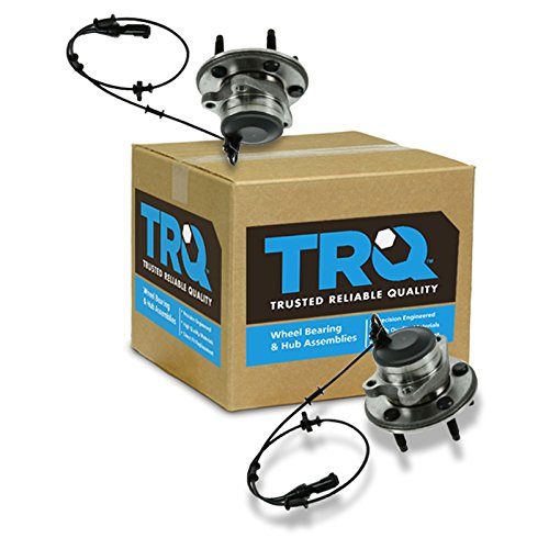 TRQ Front Wheel Hub & Bearing LH & RH Pair Set for Jaguar S-Type Super XJ8 XJR by TRQ
