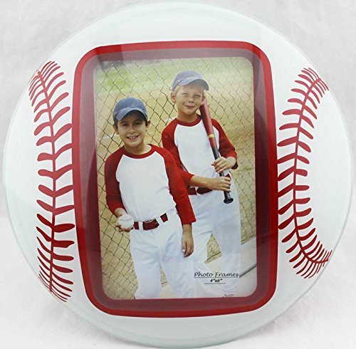 - Glass Curved Baseball Picture Frames 4