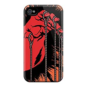 IanJoeyPatricia Iphone 4/4s Shock Absorbent Hard Cell-phone Cases Support Personal Customs Beautiful Metallica Image [pfm8072qOSI]