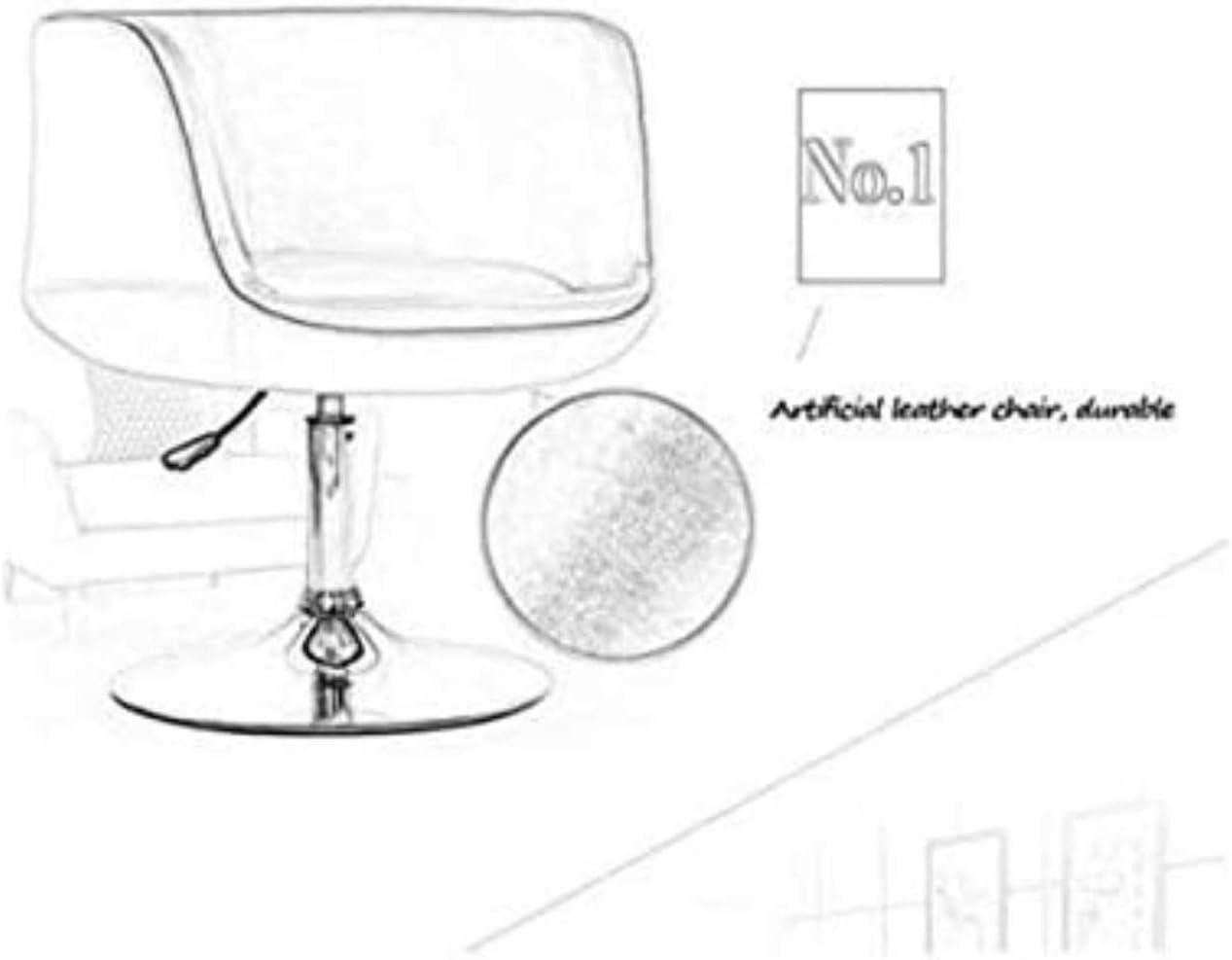 GUOJINE Bar en Bois Massif Tabouret de Bar Loisirs Bar Chaise de Simple Nordic avec Retour Bar Bar Tabourets Tabouret Table de Levage Non-Rotation (Color : D) B