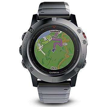 Garmin Fenix 5X Sapphire 010-01733-03, Reloj inteligente ...