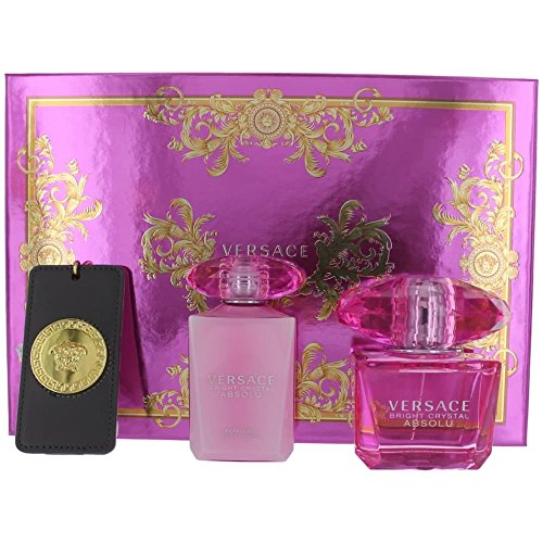Versace Bright Crystal Absolu Christmas Gift Box Set 2016