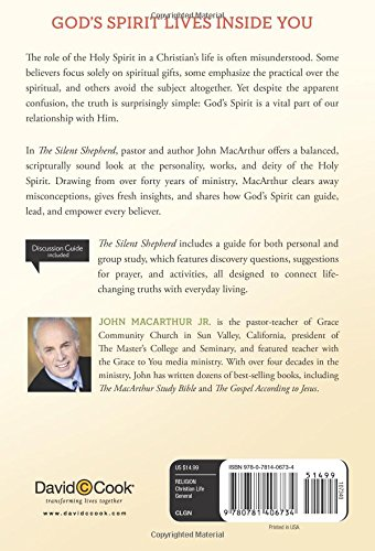 The silent shepherd the care comfort and correction of the holy the silent shepherd the care comfort and correction of the holy spirit john macarthur study john macarthur jr 9780781406734 amazon books negle Choice Image