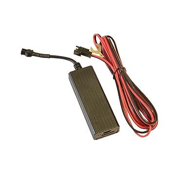 TOOGOO Rastreador de GPS de motocicleta bicicleta electrica coche Localizador GSM Control remoto con sistema de monitoreo en tiempo real APLICACIONES: ...