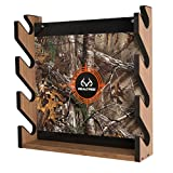 Rush Creek Creations REALTREE Camo 4 Gun Wall Storage Rack - 5 Minute Assembly