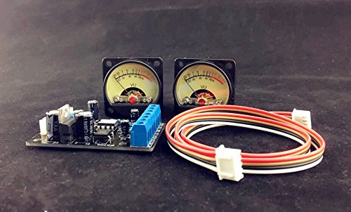 Nobsound®Audio power Amplifier Panel VU meter DB level LED Header+driver board Module DIY