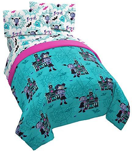 Jay Franco Disney Vampirina Twin Comforter - Super Soft Kids