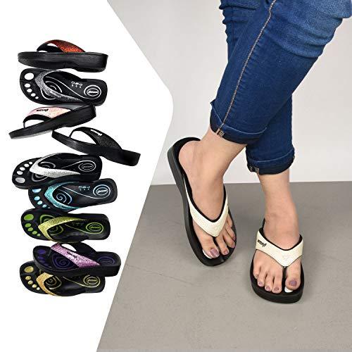 Aerosoft - Flip Flops for Women - Arch Supportive
