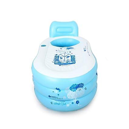 Amazon.com: Simple Inflatable Bathtub Adult tub Household Bath ...
