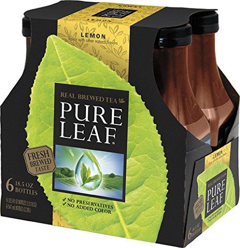 Pure Leaf, Sweet Tea with Lemon, 18.5 oz (Pack of 6) (Pure Leaf Tea Lemon)
