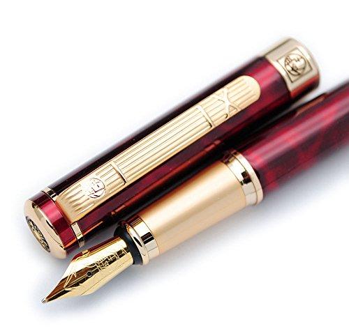 Picasso 902 Gentleman Collection Fountain Pen Original Box - Fountain Red Pen