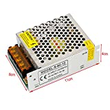 YaeTek 12V DC Switch Power Supply Driver for LED Light , Input: AC110V/220V(12V 5A 60W)