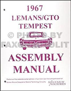 1968 68 Gto Tempest Wiring Diagram Manual Wire Center U2022 Rh Abetter Pw Chevelle LeMans