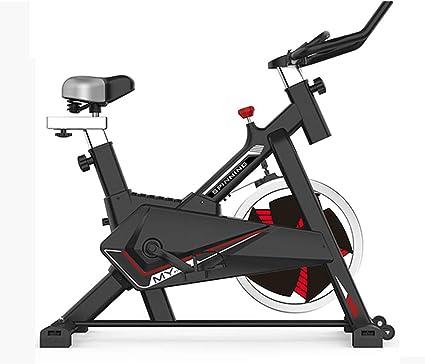 Bicicleta Estática de Fitness, Bici Spinning Bicicleta Fitness con Consola y Sensores de Pulso en Manillar,Capacidad Máxima de Carga 150 (kg) Máquinas de Cardio: Amazon.es: Deportes y aire libre