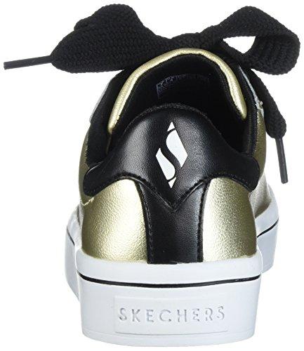 Sneaker Da Donna In Pelle Di Alta Qualità Metallizzata