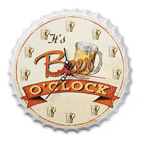 DII Beer Oclock Novelty Clock