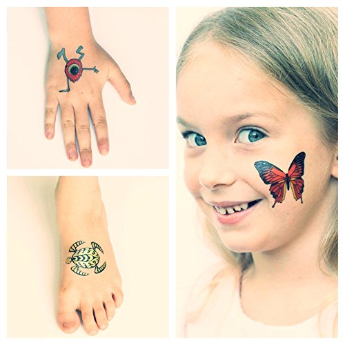 Temporary Tattoos Individually Wrapped Sheets product image