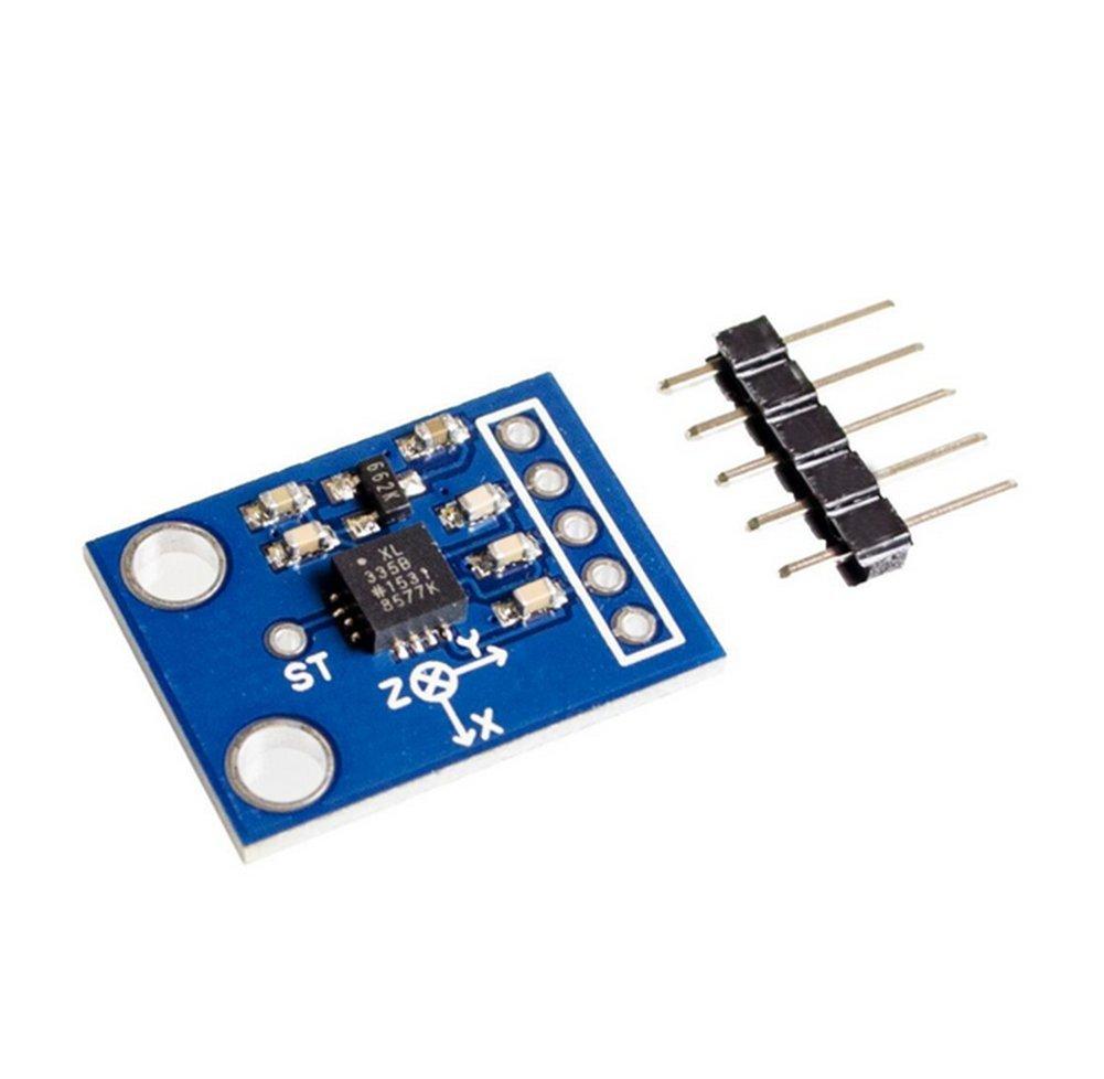 Dosige GY-61 ADXL335 Modul Winkel Sensor Modul Neigungswinkel Modul f/ür Arduino Raspberry Pi