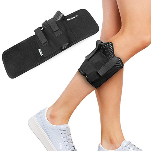 Becko Ankle Holster For Concealed Carry - Fits Glock 26, Glock 27,...