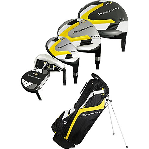 Ray Cook Golf Mens Golf Silver Ray 2 Complete Set with Bag 1 Inch