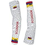 Ecuador ScudoPro Compression Arm Sleeves UV Protection Unisex - Walking - Cycling - Running - Golf - Baseball - Basketball