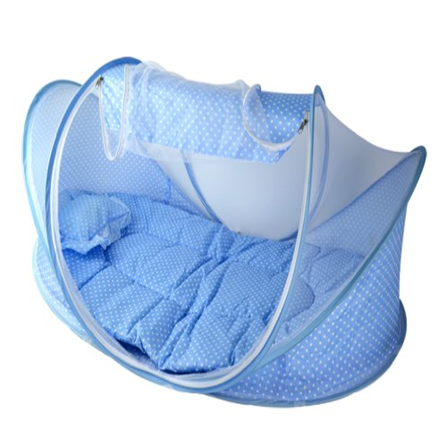 OrangeTag Baby Infant Bed Canopy Mosquito Net Cotton-padded