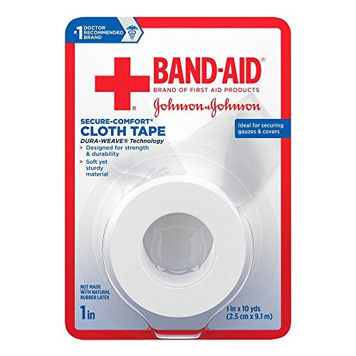 Band Aid First Cloth Tape Pack product image