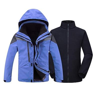 3afb7f9cd4d Amazon.com  Mount Marter Men s Snow Mountain Ski Jacket 3 in 1 ...
