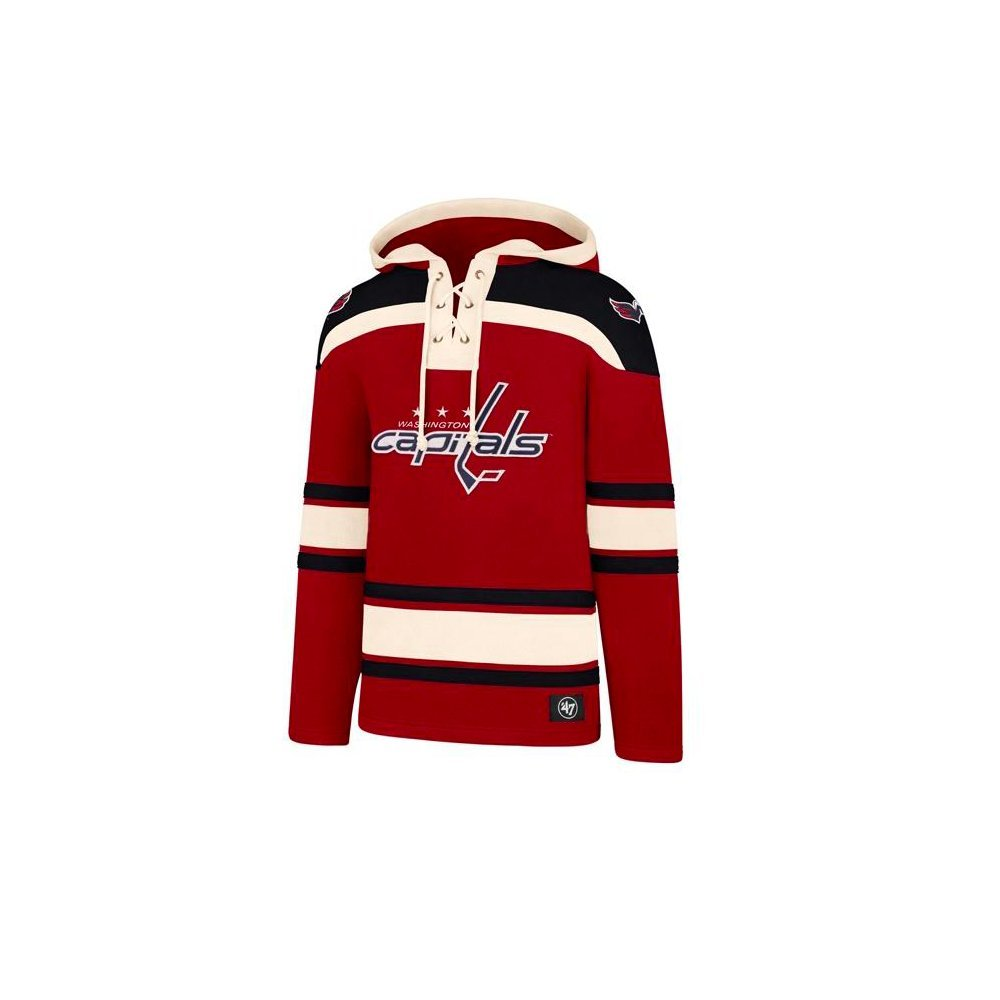 '47 NHL Washington Capitals Lacer Jersey Hood 47 Brand