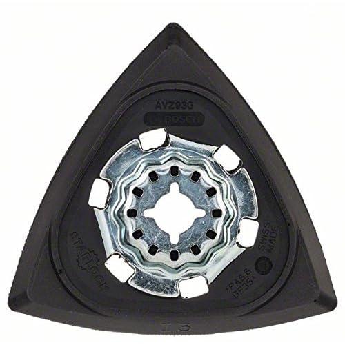 Bosch 2609256956 Plateau de ponçage AVZ 93 mm G pour outil multifonctions accessoire Starlock