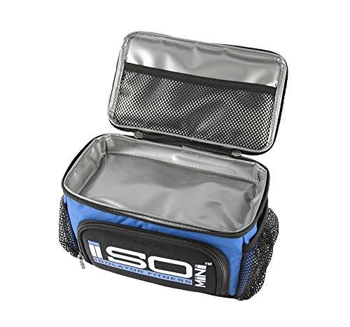 Isolator Fitness Blackout ISO Mini Mahlzeit Tasche Hellblau/Schwarzer Akzent zdBNCVQ
