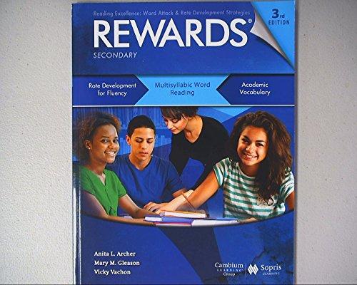 Rewards: Multisyllabic Word Reading, Student Book, Secondary Level