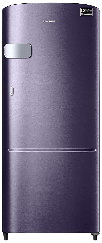 Renewed  Samsung 192 L 4 Star Inverter Direct Cool Single Door Refrigerator  Pebble Blue  Refrigerators
