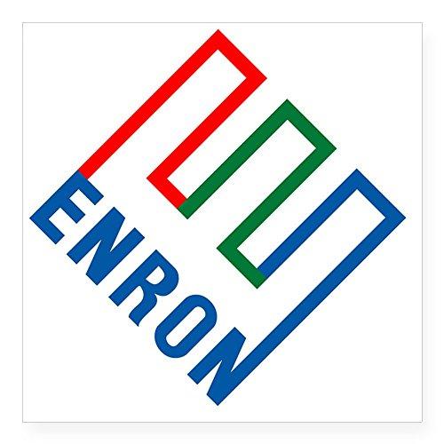 [CafePress - Enron Square Sticker 3