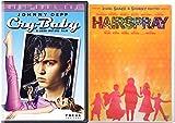 Cry Baby + Hairspray Musical DVD Set Special Edition Bonus Videos Shimmy Shake