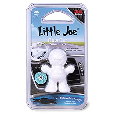 Little Joe 96401 New Car Scent, Car Air Freshener, Clips to A/C Air Vent, Alcohol-Free Fragrance Oil, Non-Hazardous and Non-Toxic Plastic, Set of 1: Automotive