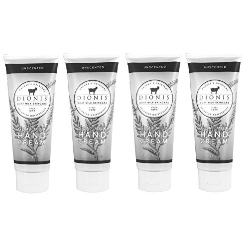 Dionis Goat Milk Hand Cream 4 Piece Travel Gift Set - Unscen