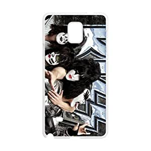 DAZHAHUI Rock Band Kiss Cell Phone Case for Samsung Galaxy Note4