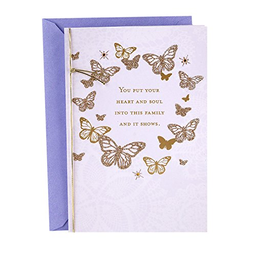 Hallmark Mother's Day Greeting Card for Wife (Heart and Soul)